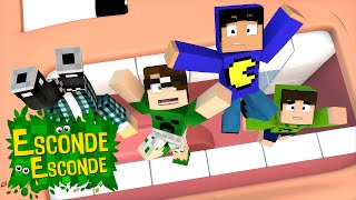 Minecraft: BARRIGA DO JORJÃO! (Esconde-Esconde)