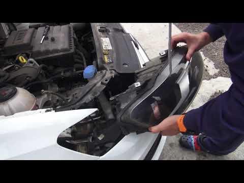 как поменять лампочку на Volkswagen Polo