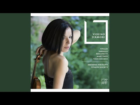 Baroque Violin Concerto in G Major, II. Andante