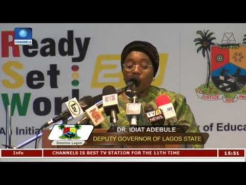 1500 Students Graduate From Ready-Set-Work Initiative | Dateline Lagos |