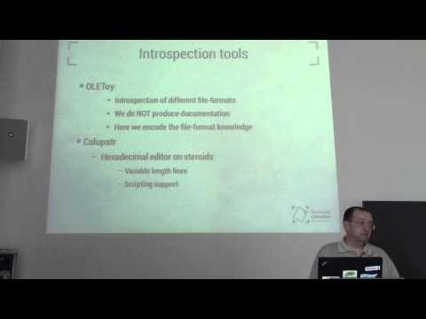 Document Liberation Project - Trying to Break the Vendor Lock (Fridrich Strba)