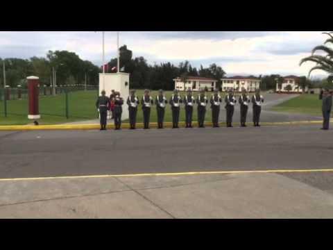 Guardia De Honor De La Escuela De Suboficiales