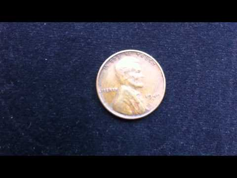 Coins : USA Penny 1949 S Coin aka Wheat Penny or Lincoln Penny
