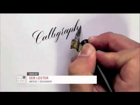 Why the ancient art of calligraphy still enchants