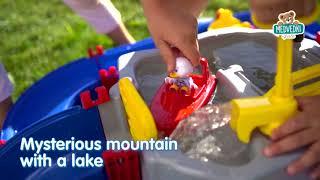 Vodna steza AquaPlay Mountain Lake z jamo, tobogan