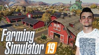 """Farming Simulator 19 """"Sprawdzanie Map"""" #2 ㋡ American Outback ✔ MafiaSolecTeam"""