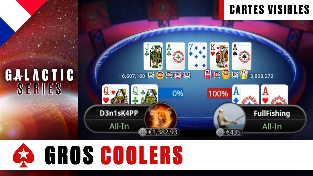 COOLERS de dingue ♠️ Benny & Yu ♠️ Galactic Series ♠️ PokerStars en Français