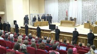 В Минске проходит суд по делу о теракте в метро