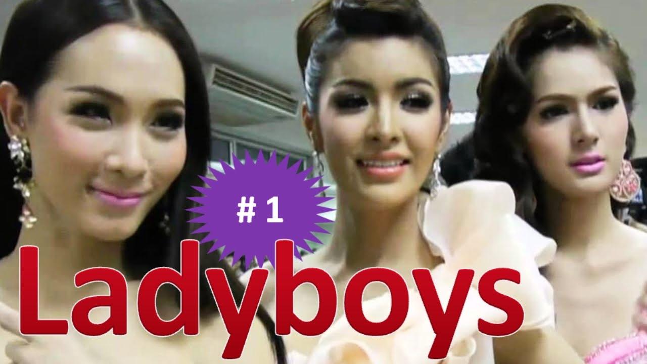 Beautiful Thai Ladyboy In The Night Street - Youtube-7990