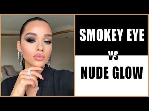 Tarafını Seç: Smokey Eyes vs. Nude Glow