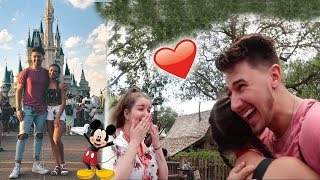 I SURPRISED MY SISTER IN DISNEY WORLD! (EMOTIONAL)