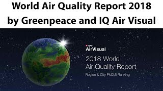 World air quality report 2018, indian cities are world's most polluted places, current affairs 2019