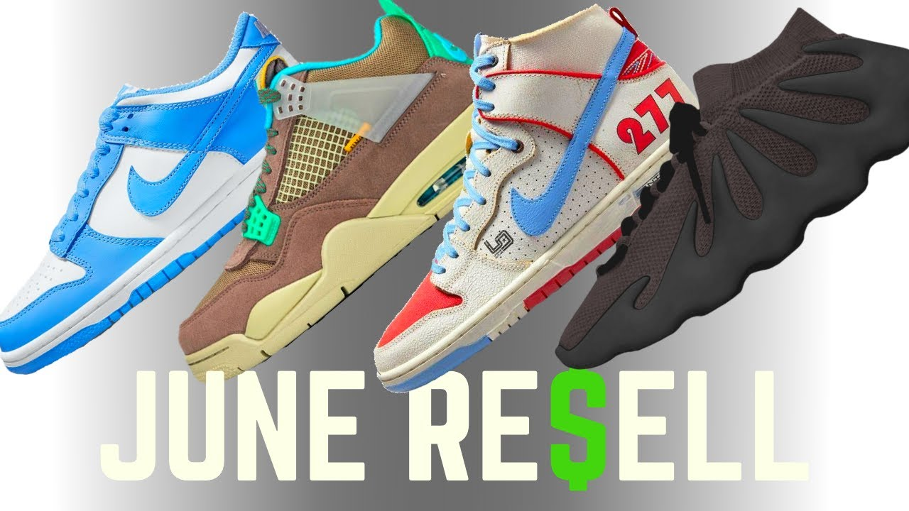 WHEN TO BUY!? June Sneaker Releases + Resell Predictions (ENTIRE MONTH!)
