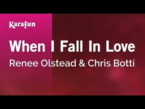 Karaoke When I Fall In Love - Renee Olstead *