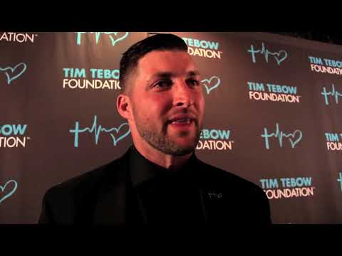Tim Tebow Foundation Celebrity Golf Classic Gala Red Carpet with Emerson Unger