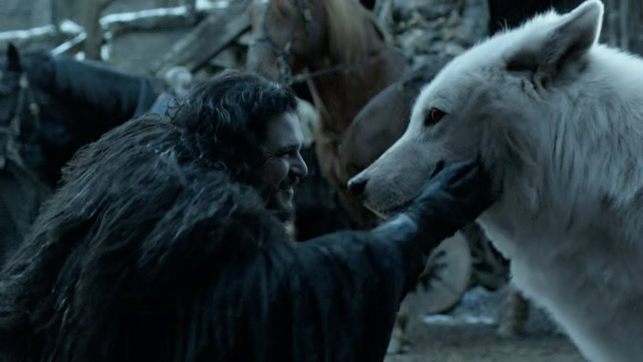 Download Jon reunites with Ghost | GAME OF THRONES 8x06 Ending Scene [HD]