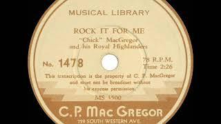1938 Chick MacGregor (ET) - Rock It For Me (instrumental)