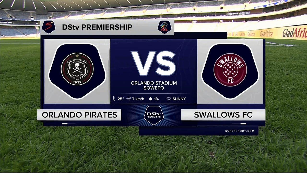 Download DStv Premiership | Orlando Pirates v Swallows FC | Highlights