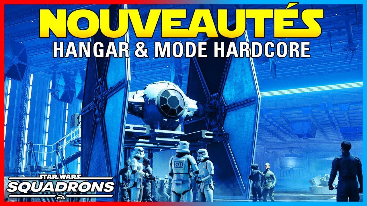 VOLER DANS UN HANGAR (Vaisseau Amiral) & Mode Harcode | Star Wars: Squadrons