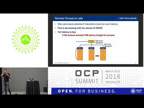 OCPUS18 – Using SmartNICs to Improve Multihost Server Latency