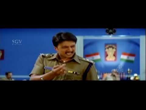 Hebbuli Sudeep Mass Dailogue Kannada Scenes | Kannada Scenes | Hubballi Kannada Movie | Rakshitha