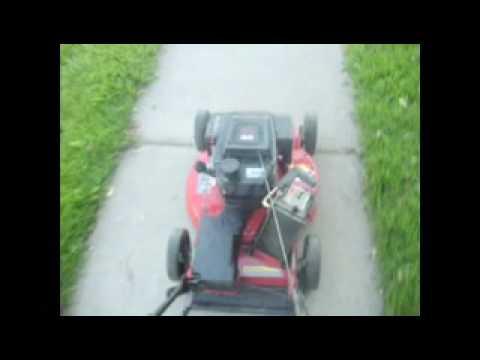 Repairing a GTS5 TORO lawn mower - YouTube