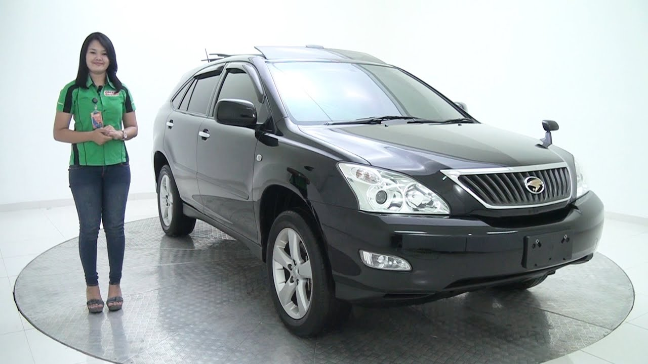 Jual Mobil Toyota Harrier 2 4 Heater Pwr Bdr At Hitam 2010