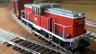 Brasstrains HO JNR DD12 GE 44 tonner Musashino Model ムサシノモデルのDD12 1号機②