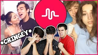 Reacting to musical.ly