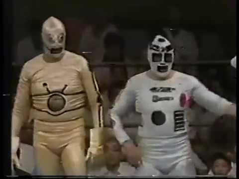 AJPW: Masanobu Fuchi/Atsushi Onita vs. Robot R2/Robot C3 (7/6/79)