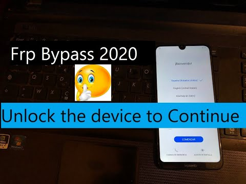 Huawei Y7 2019 (DUB LX1) Frp Bypass 2020 Without Box Or Dongle | Fix Unlock The Device To Continue