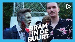Doodsangsten in Walibi - Bram In De Buurt | SLAM!