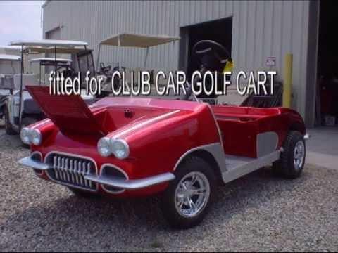 1958 Corvette golf cart body buit in Kendallville Indiana