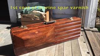 Renovating an old violin case by Randy Miller