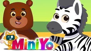 Renkli Hayvanlar Çocuk Şarkısı | Hayvanlı Şarkılar