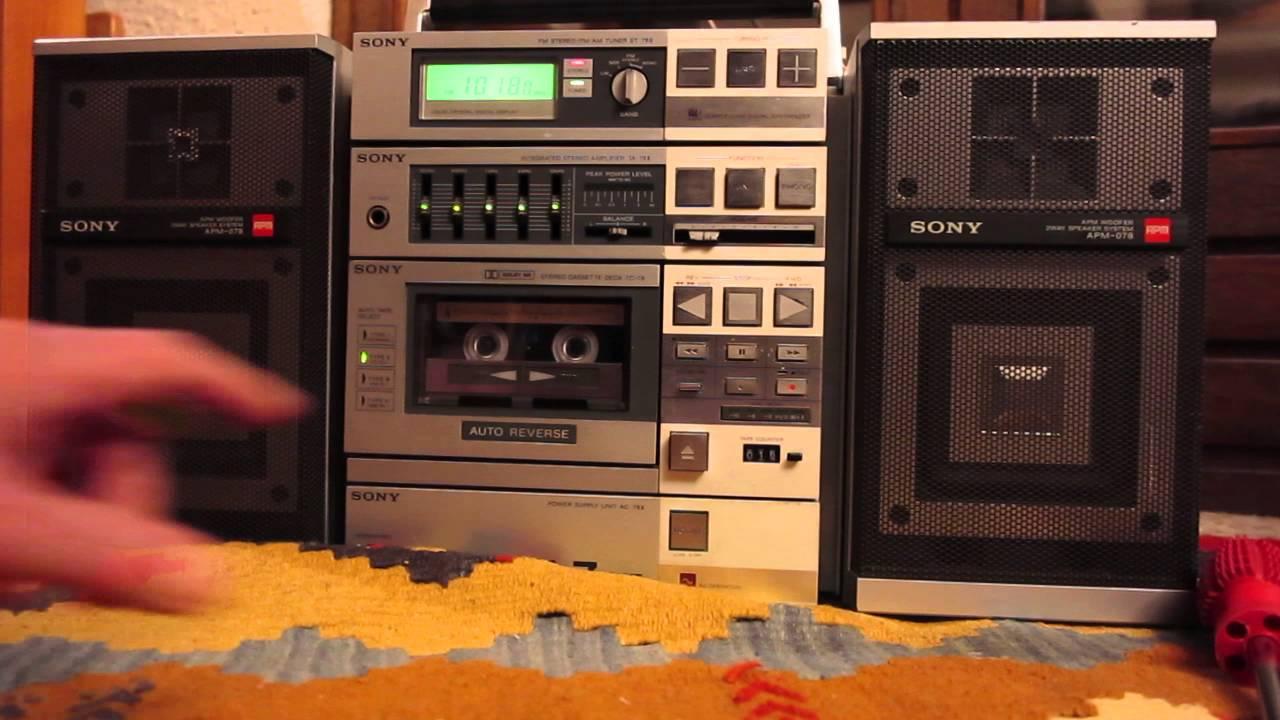 essai du deck tc 78 lecteur de cassette de la mini chaine. Black Bedroom Furniture Sets. Home Design Ideas
