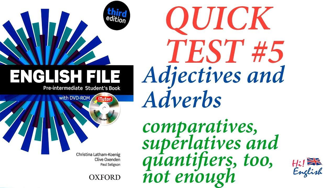 New English File Pre Intermediate Test Book