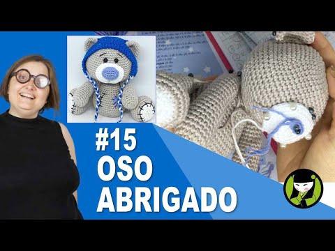OSO NAVIDEÑO AMIGURUMI 15 oso tejido a crochet