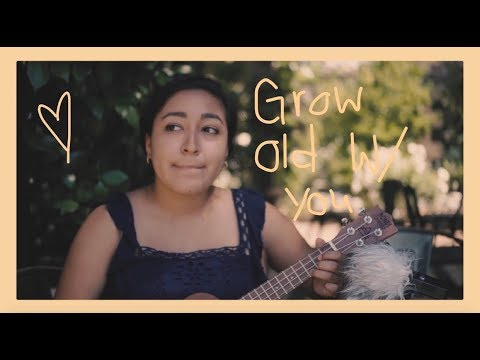Grow Old With You - The Wedding Singer (ukulele cover)