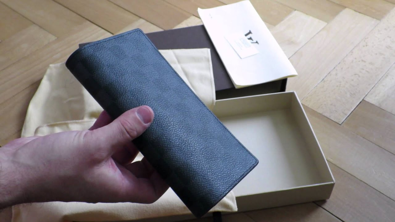 49da9680bec Louis Vuitton - Brazza Wallet Review - YouTube