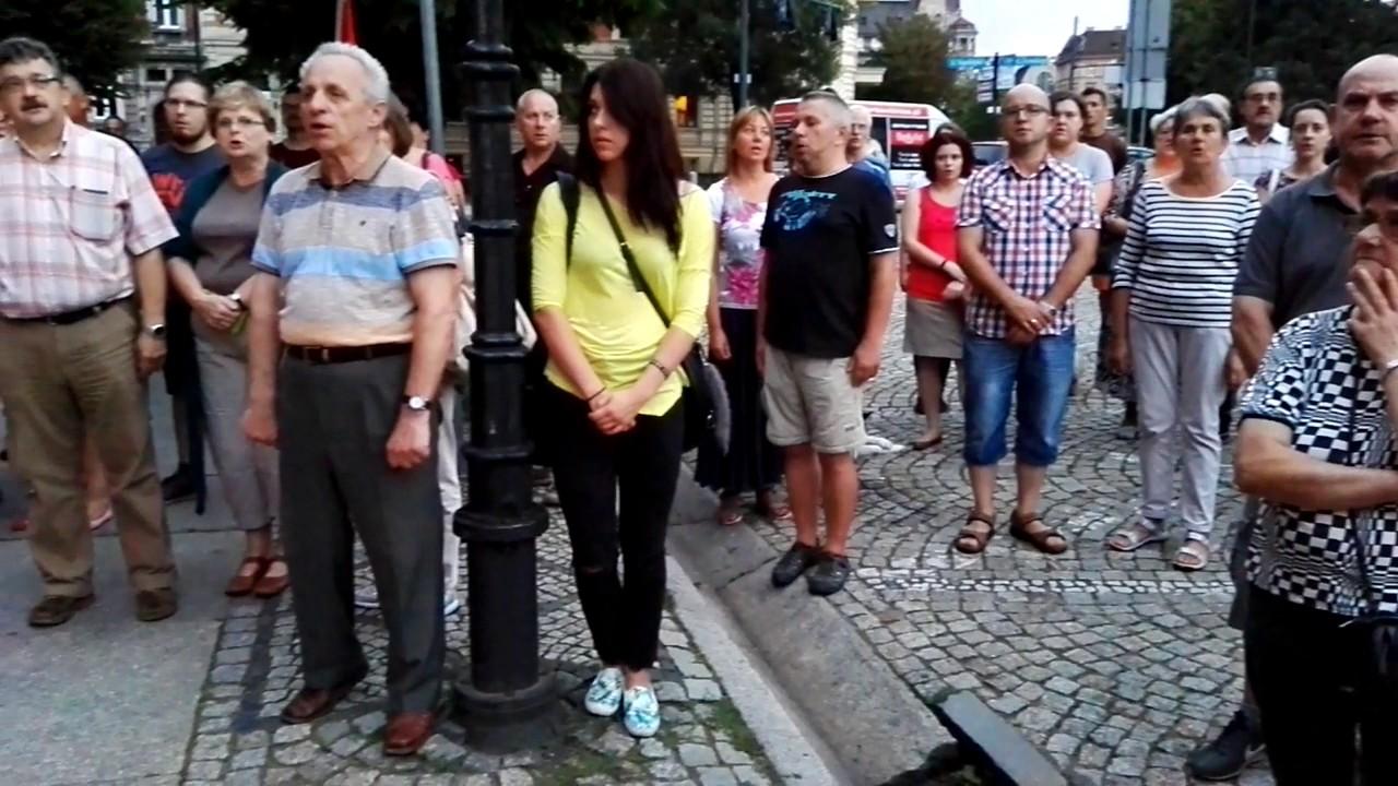 Demonstracja w Świdnicy w obronie demokracji i Sądu Najwyśzego