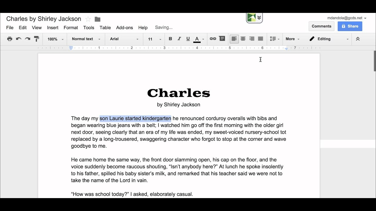 How to annotate in google docs youtube how to annotate in google docs ccuart Image collections
