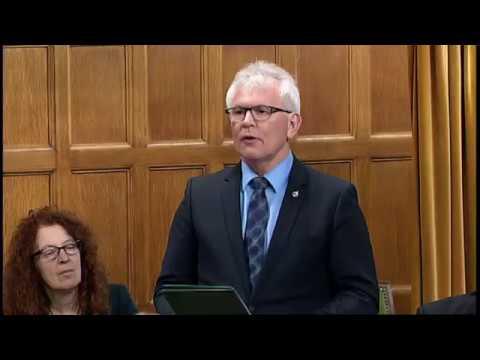 Wayne Stetski Question on Canada Border Services