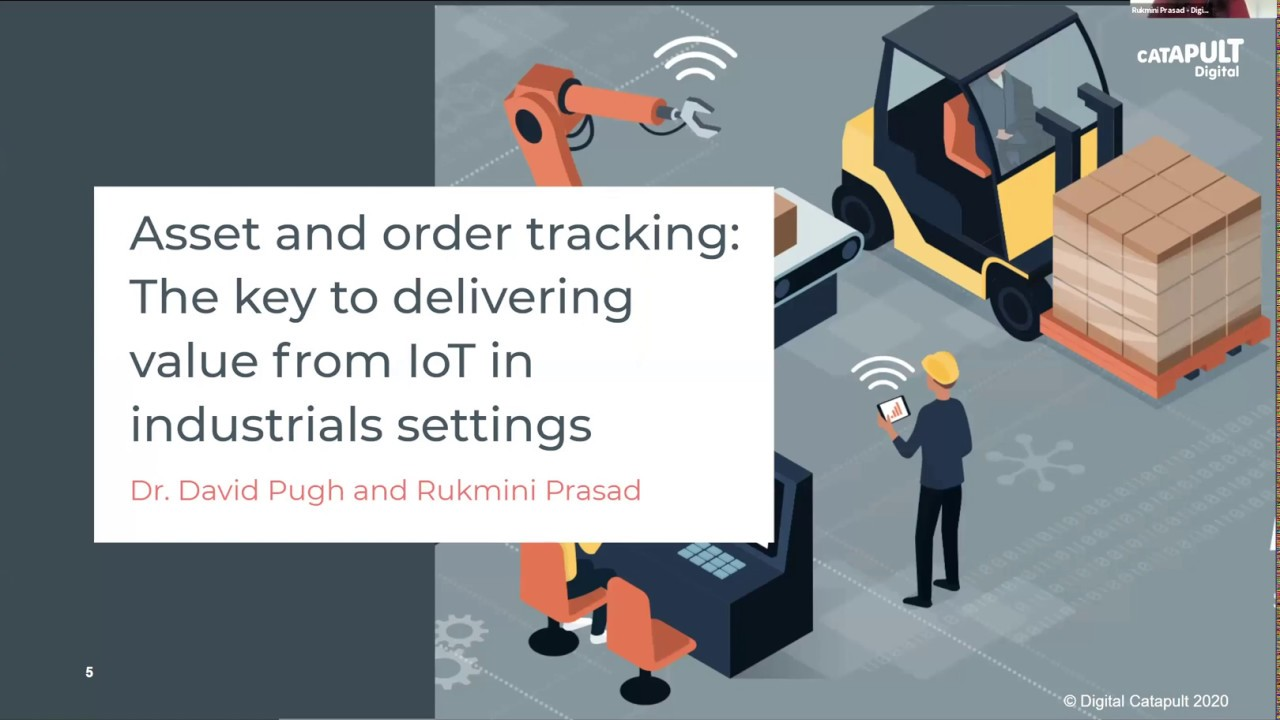 Asset and order tracking in manufacturing; exploring the value of IoT to your business