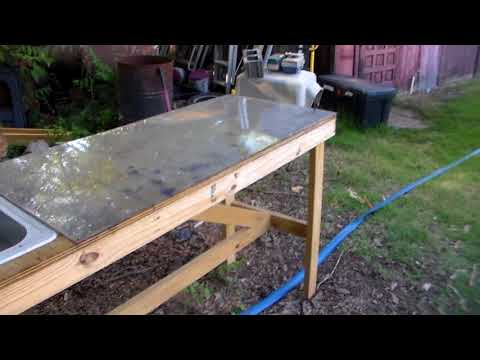 How To Make You're Own Fish Cleaning Table!