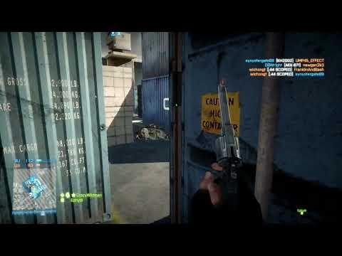 .44 Magnum At Work - Battlefield 3 GamePlay
