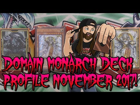 DOMAIN MONARCH DECK PROFILE NOVEMBER 2017!