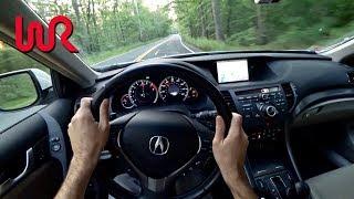 2013 Acura TSX Wagon - Tedward POV Test Drive (Binaural Audio)