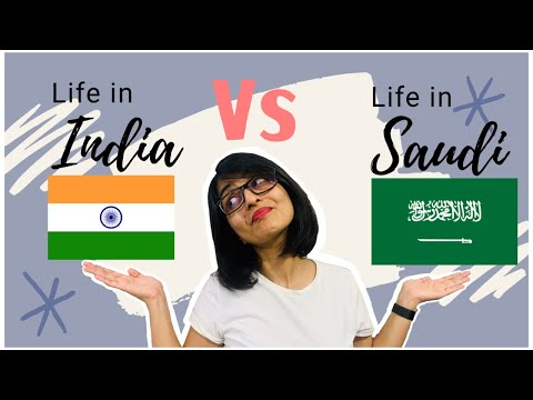 Life in Saudi Arabia vs Life in India | Experiences of a third culture child