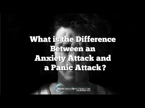 What is the Difference Between an Anxiety Attack  and a Panic Attack